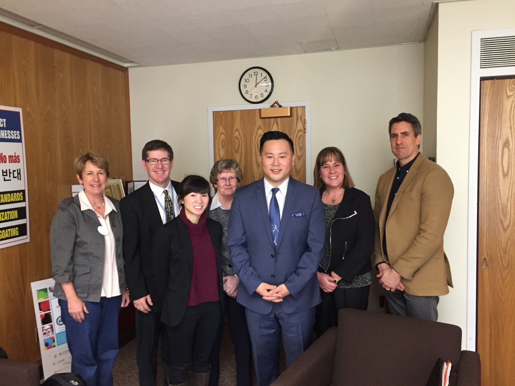 Adult Literacy Advocates meet with NYS Assemblymember Ron Kim, a champion of literacy funding
